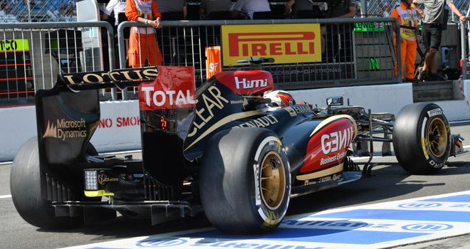 Kimi Raikkonen: Lotus lacking grip at Monza