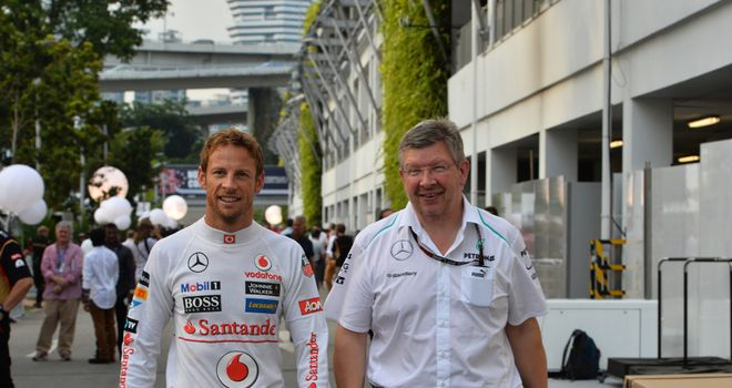 Jenson Button: Holds his former team boss in high regard