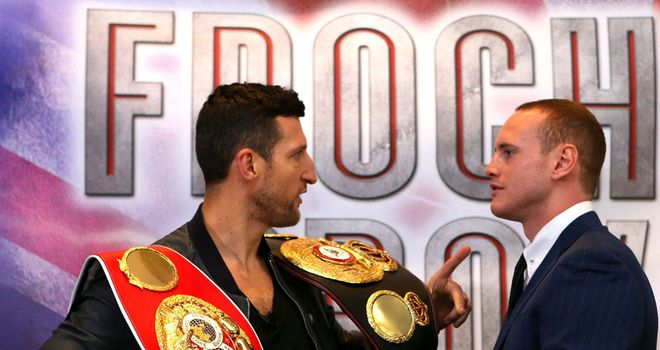 Froch warns Groves that he will be getting knocked out when the pair meet in Manchester