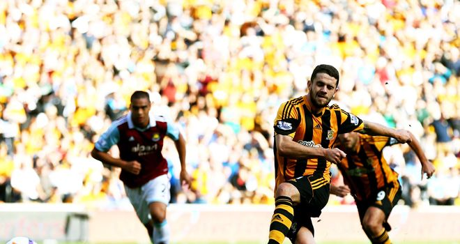 Robbie Brady: Slots home the penalty