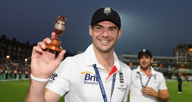 James Anderson: Ready to face Australian crowds