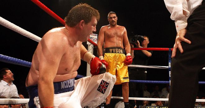 John McDetmott: still can't believe he lost his first fight with Tyson Fury