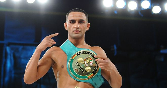 Kid Galahad: Looking to secure world title shot (Pic leighdawneyphotography.com)