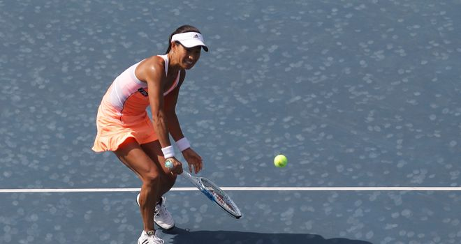 Kimiko Date-Krumm is through to the last eight in Korea