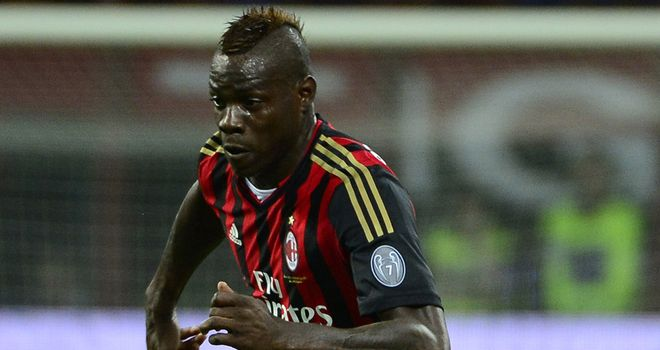 Balotelli: On target for Milan