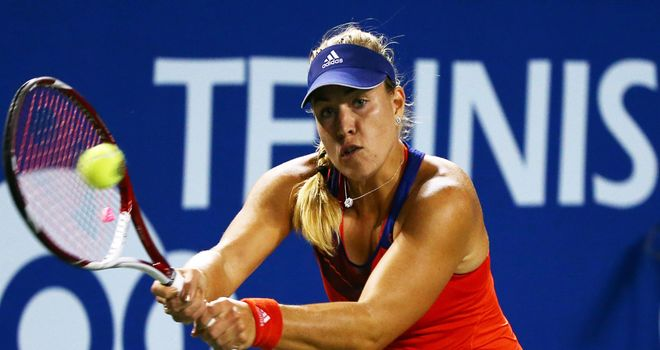 Angelique Kerber: Just her second final of the season