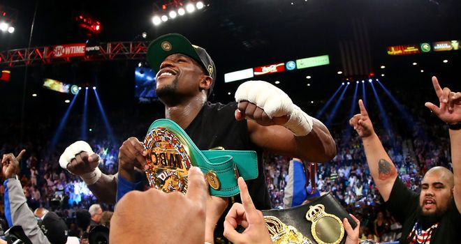 Floyd Mayweather remains far and away the best pound-for-pound fighter on the planet