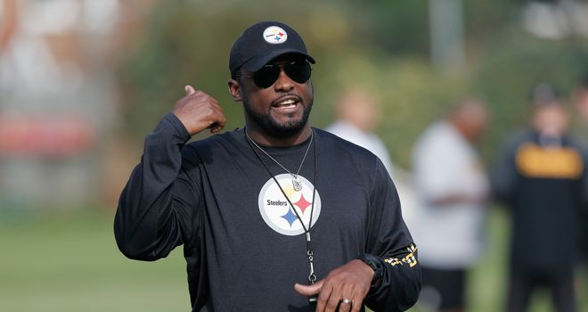 Pittsburgh Steelers head coach Mike Tomlin in London