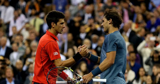 Novak Djokovic and Rafael Nadal: Clear favourites in Shanghai