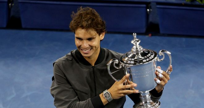 Rafael Nadal: Needs five more grand slam titles to beat Roger Federer's mark