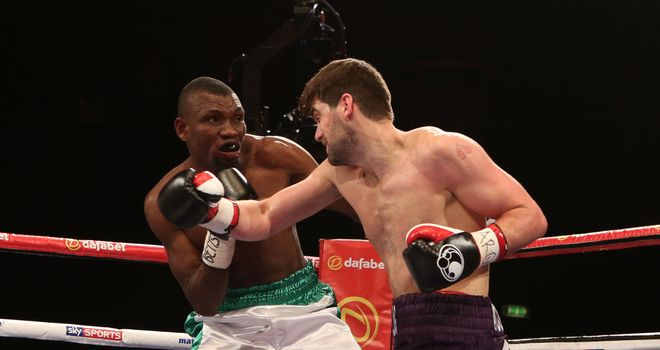 Rocky Fielding (R): Cemented his status as one of Britain's brightest prospects