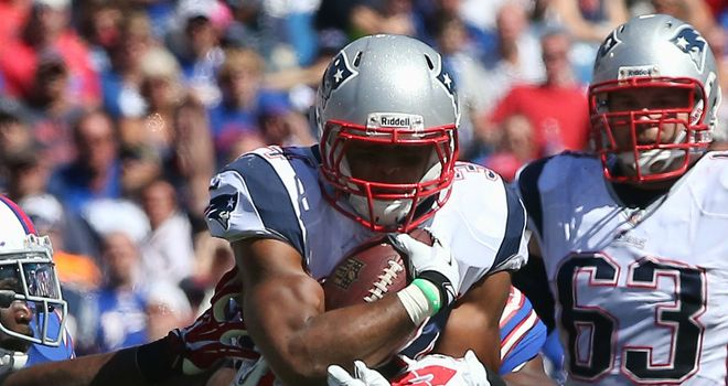 Shane Vereen: New England Patriots running back had 101 rushing yards in win over Buffalo Bills