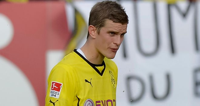 Sven Bender: Looks on during the Nurnberg draw at the weekend