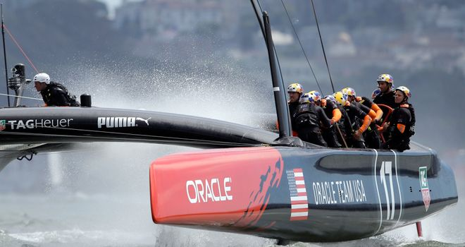 Oracle Team USA: Expected to lean their fate on Tuesday