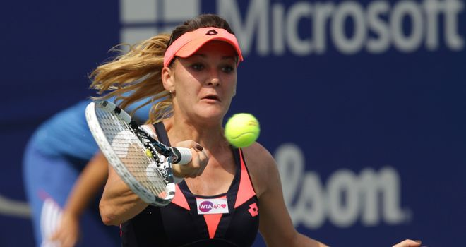 Agnieszka Radwanska: served up a semi-final treat in Seoul