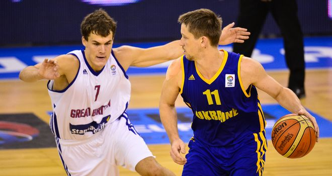 Great Britian missed out of the second round of EuroBasket after losing to Ukraine