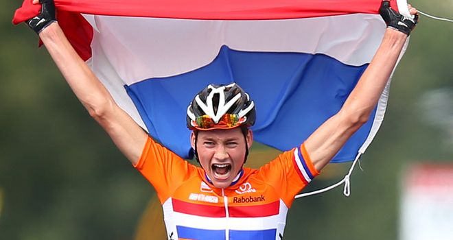 Mathieu van der Poel proved too strong for his rivals