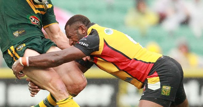 Menzie Yere: Included in PNG squad
