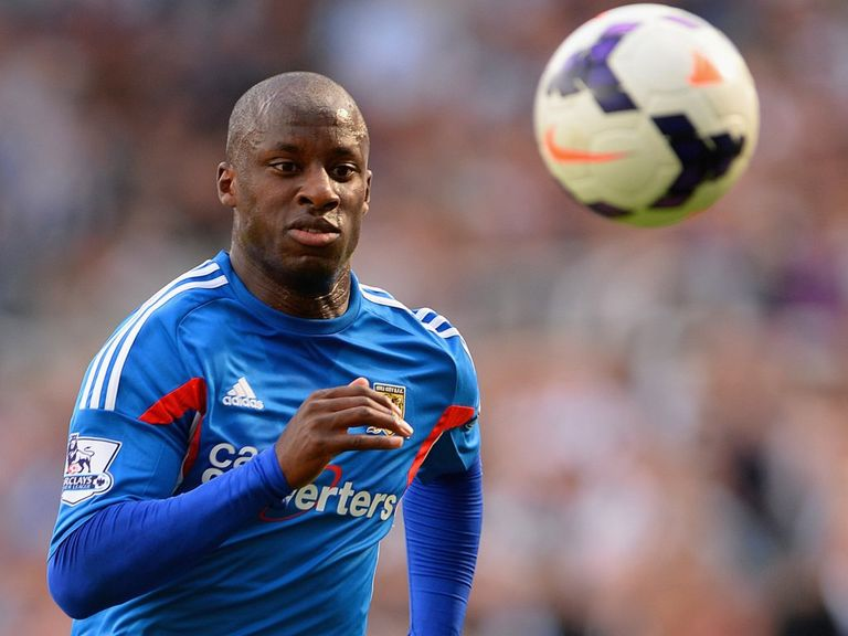 Sone Aluko: Good season for Hull so far