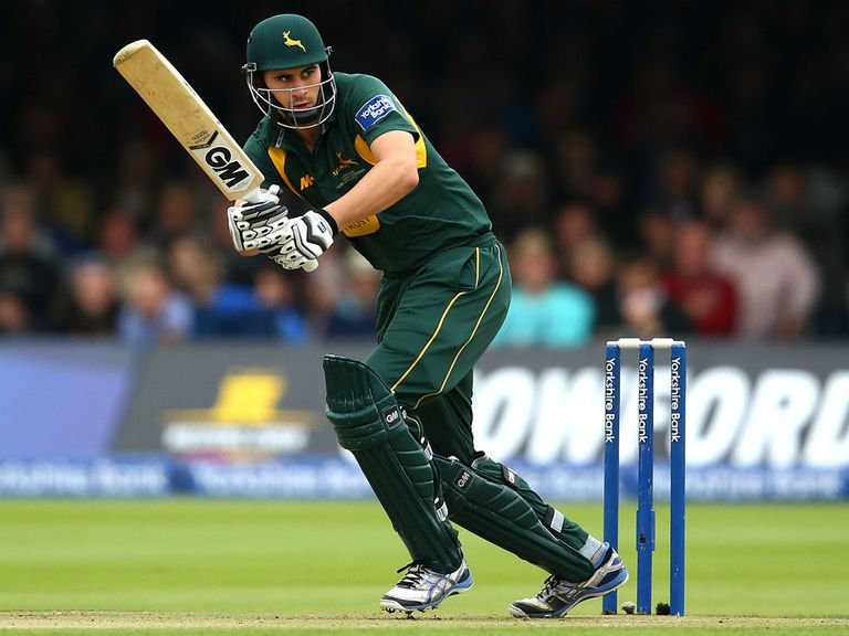 Alex Hales: Has signed a new deal with Notts