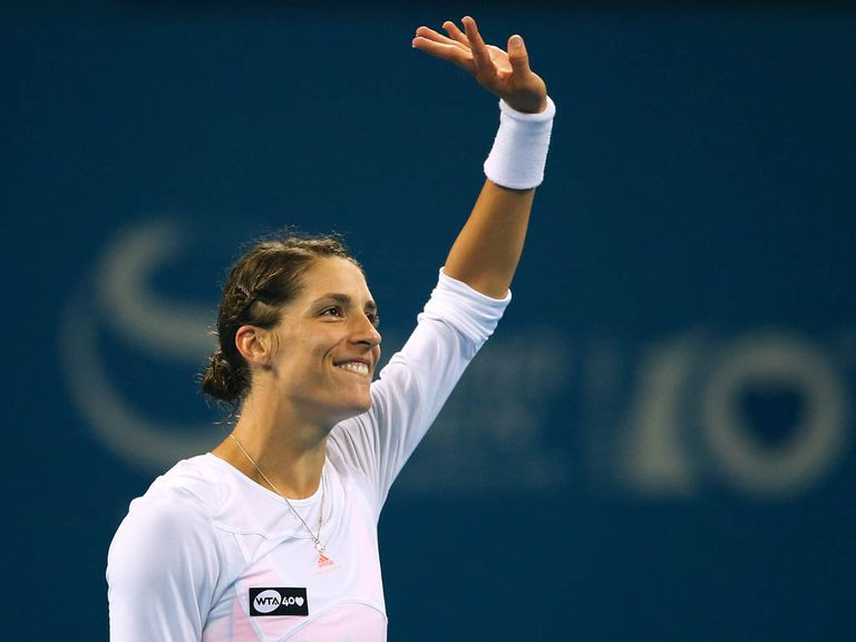 Petkovic:Shock success over Azarenka