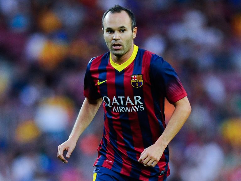 Andres Iniesta: Set to sign a new deal