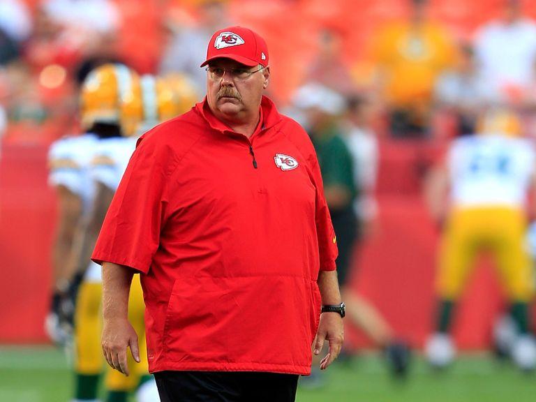Andy Reid: Looking for a win back in Philadelphia