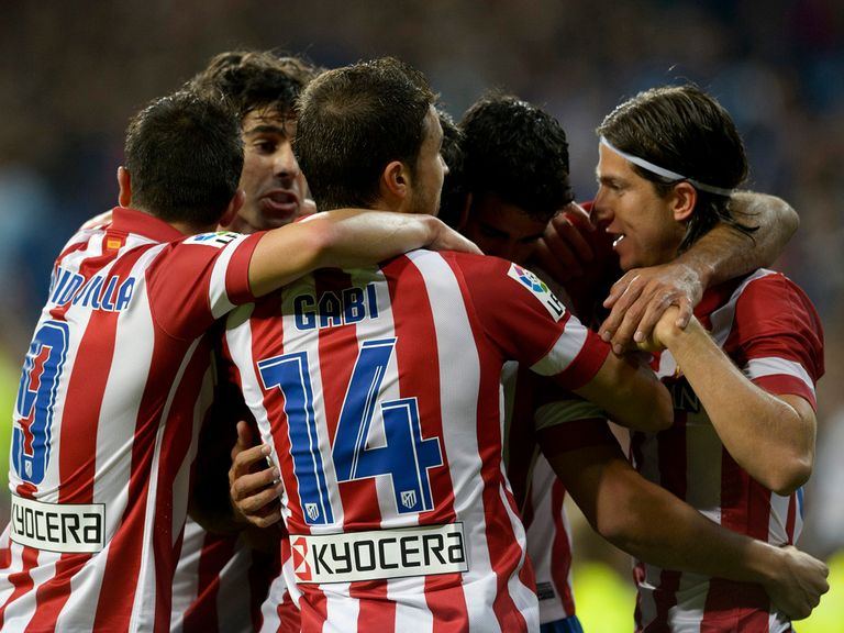 Atletico beat Real 1-0 in the Madrid derby