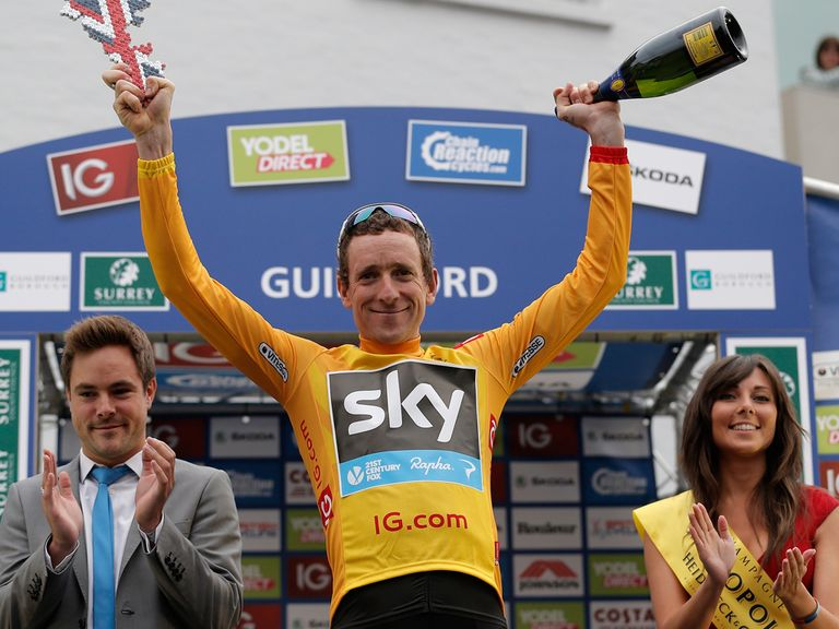 Sir Bradley Wiggins: Victory in the Tour of Britain