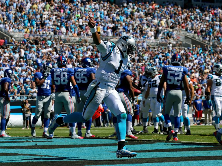 Cam Newton guided his team to a big win