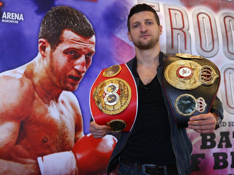 Froch: Fights next on November 23