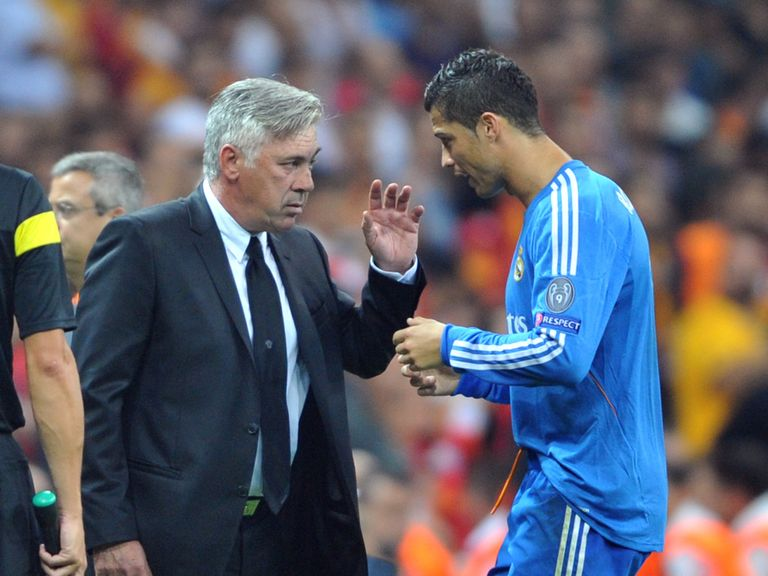 Ancelotti: Praised Gala for their first-half display