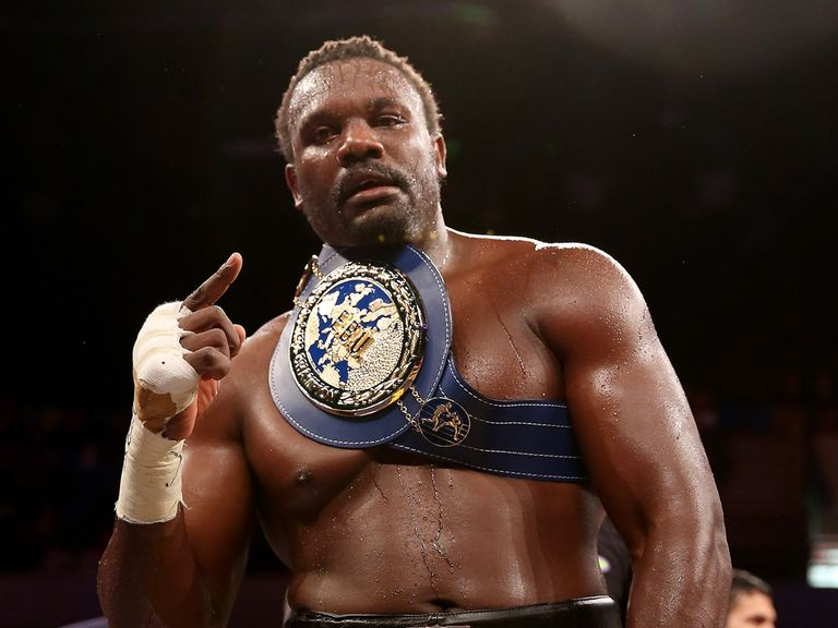 Dereck Chisora: Too good for Edmund Gerber