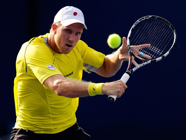 Dominic Inglot: In the second round of the Japan Open men's doubles