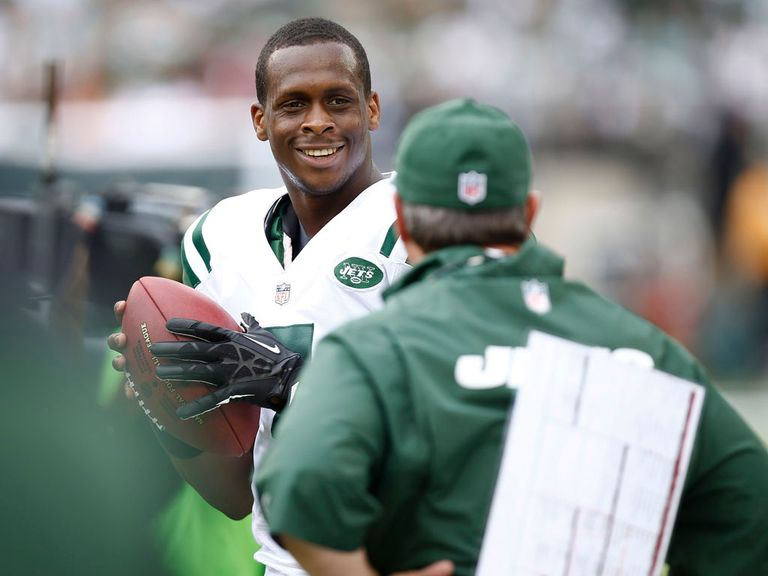Geno Smith: Will get by with some help from his friends