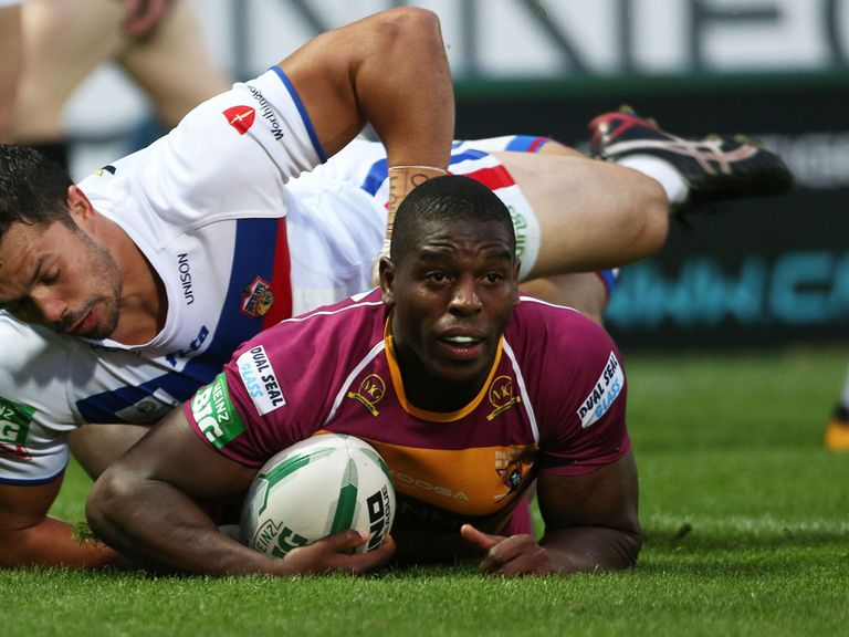 Jermaine McGillvary: Scored a hat-trick of tries for the Giants