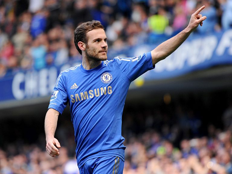 Juan Mata: Happy at Chelsea
