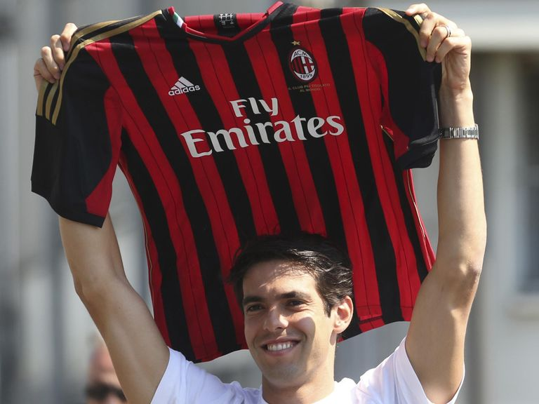 Kaka is back with AC Milan