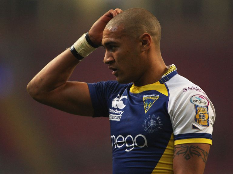 Kevin Penny: Set to play for Warrington on Monday