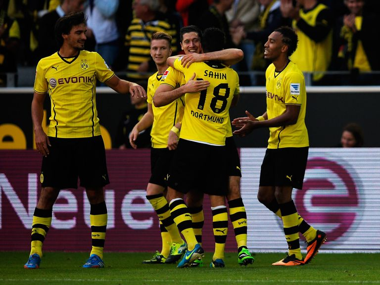 Lewandowski: Netted twice for Dortmund in 5-0 win