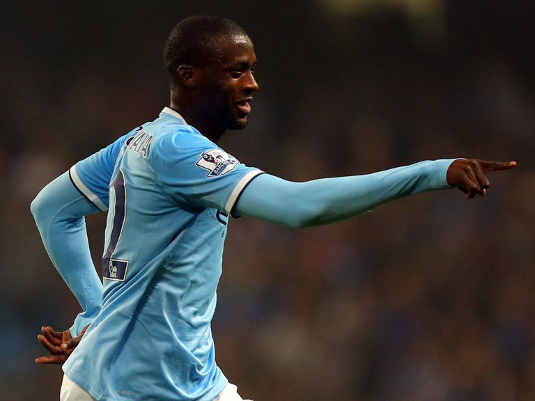 Toure: Key figure for Manchester City