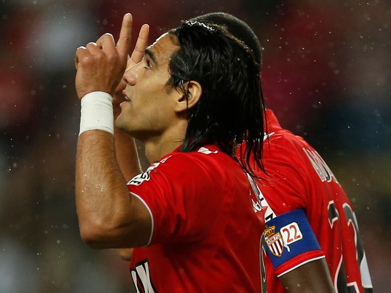 Radamel Falcao: Recovering well from knee injury