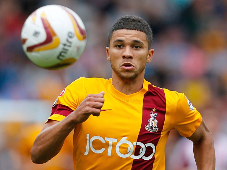 Nahki Wells: Bradford youngster is top scorer in League 1