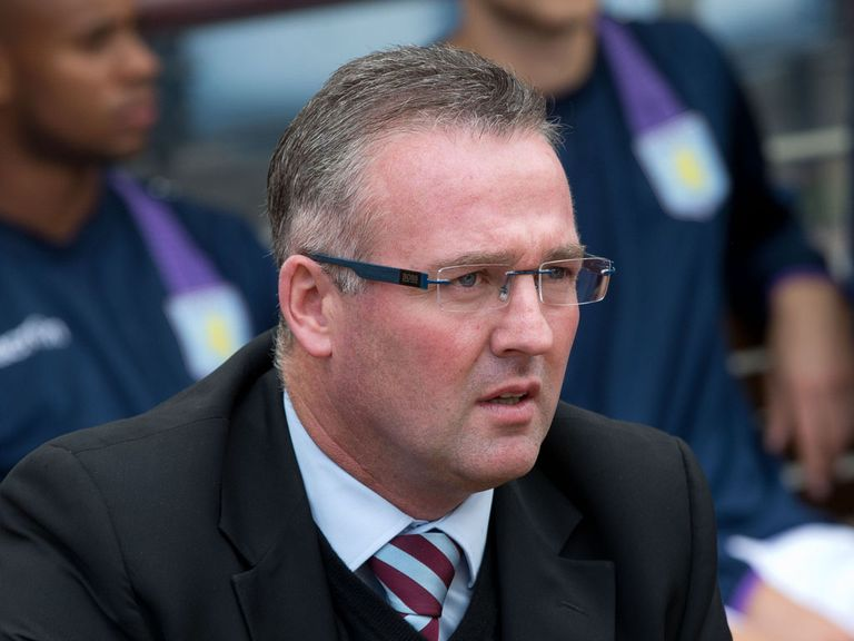 Paul Lambert: Saw his side lose at home to Newcastle