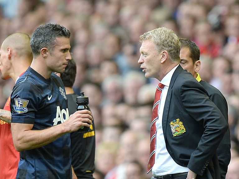 Van Persie: Happy working under David Moyes