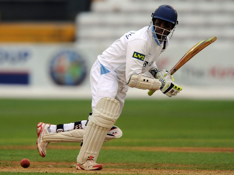 Shivnarine Chanderpaul: Guided Derbyshire to a vital victory