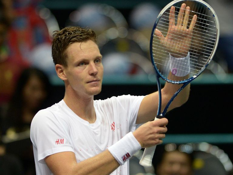 Berdych: Booked his place at the O2