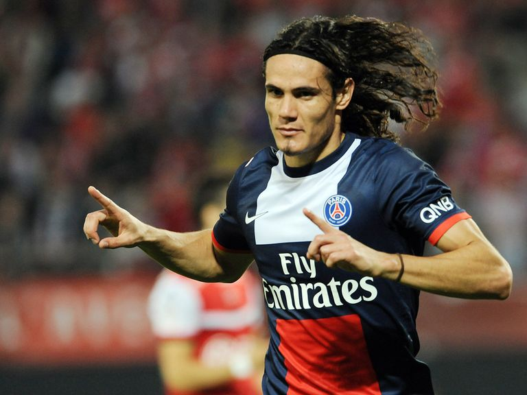 Cavani: Is in the PSG squad for their trip to Benfica