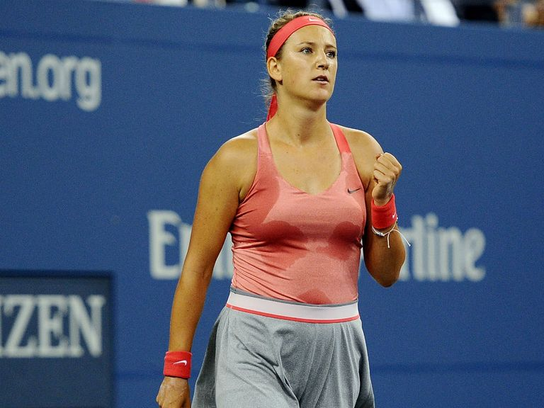 Azarenka: Through to the last four