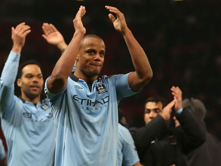 Vincent Kompany: Manchester City captain back in their squad